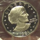 1981-S Proof Susan B. Anthony Dollar Typ1 DCAM #228