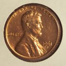 1961-D Lincoln Memorial Penny Gem BU #01122