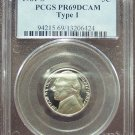 1981-S Proof Jefferson Nickel PCGS PR69DCAM Type 1 #M010