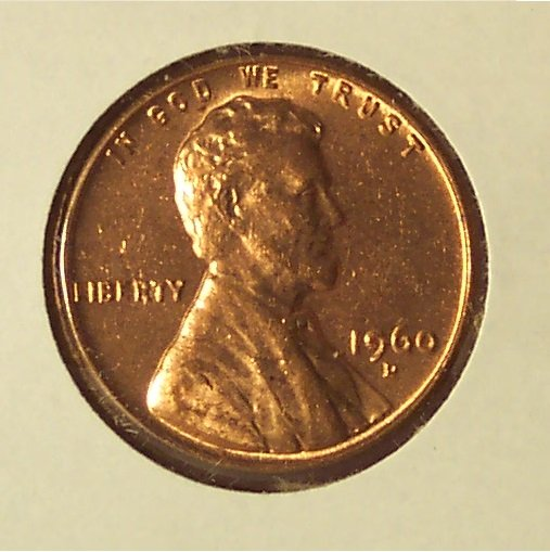1960-D Small Date Lincoln Penny Choice BU #1139