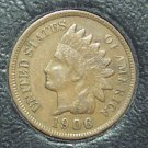 1906 Indian Head Cent XF40 #1166