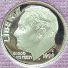 1998-S GEM CAMEO Proof Roosevelt Dime PF65DCAM #495