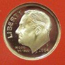 2004-S GEM Proof Silver Roosevelt Dime PF65UC #658