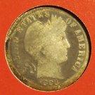 1898-O Barber Silver Dime Scarce AG #1206