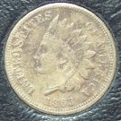 1863 Indian Head Cent VF20 Details #096