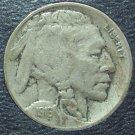 1916-S Buffalo Nickel VF #0808