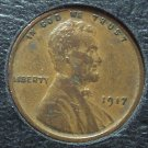 1917 Lincoln Wheat Back Penny EF #1040