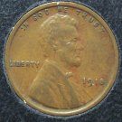 1918 Lincoln Wheat Back Penny EF #1043