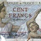 France 1940 100 Franc Banknote FR94