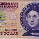 Bahamas 1 Dollar 1992 Columbus Quincentennial Commemorative