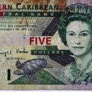 2000 Eastern Caribbean St Lucia $5 pick #37L