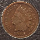1886 Indian Head Cent Typ2 G4 #168