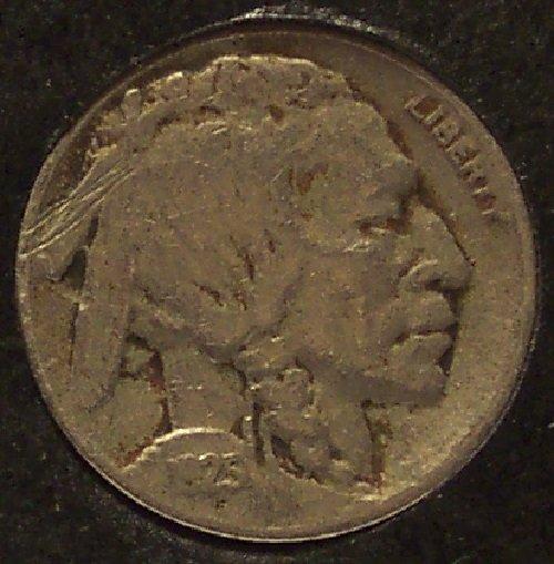 1925-S Buffalo Nickel VF Details #0333