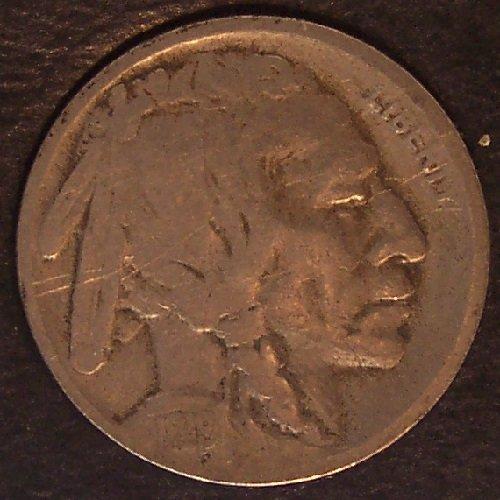 1919-S Buffalo Nickel F Details #0342