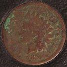 1876 Indian Head Cent AG Scarce Date #204