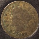 1888 Liberty Head Nickel SCARCE DATE AG #462