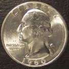 1960 Silver Washington Quarter GEM BU #0671