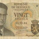 Belgium 20 Francs 1964 BE-138