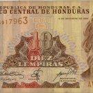 Honduras 10 Lempiras 2000 HN-86