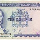 Jamaica $10 Note 1994 JM-67