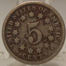1869 Shield Nickel AG #071