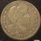 1909 Barber Silver Quarter FINE #M057