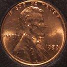 1959 Lincoln Memorial Penny CH BU #909
