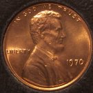 1970 Lincoln Memorial Penny Choice BU #963