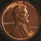 1955 Lincoln Wheat Back Penny CH BU #902