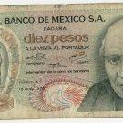 Mexico 10 Pesos 1974 MX-63