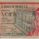 Mexico 20 Pesos 1977 MX-64