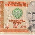 Peru 50 Intis 1987 UNC PE-131