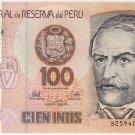Peru 100 Intis 1987 UNC PE-133