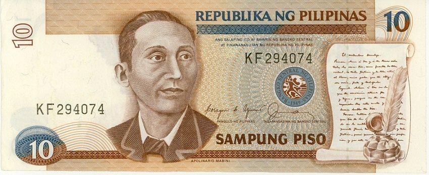 Philippines 10 Peso 1978 PH-154