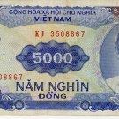 Viet Nam 5000 Dong 1991 NV-108