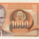 Yugoslavia 1 Thousand Dinar 1990 YU-107