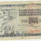 Yugoslavia 1 Thousand Dinar 1978 YU-92d