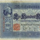 German Empire 1910 100 Marks DER-42