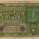 German Republic 1919 50 Marks DER-66