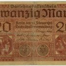 German Empire 1918 20 Marks DER-57