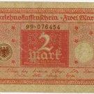 German Empire 1920 2 Marks DER-59