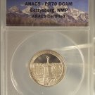 2011-S Proof Clad Gettysburg ANACS PF 70 DCAM #G29