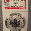 2013 Canada Maple Leaf S$5 With Snake Privy Mark NGC SP69 #G56