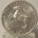 1923 50 Mark Notgeld Province Landesbank Westfalen AU RARE! #0976
