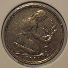 1950-J West German 50 Pfennig #0307