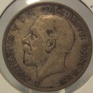 1933 Silver Great Britain 1/2 Crown #348