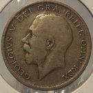 1920 Great Britain Silver Half Crown #0361