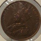 KM#21 1915 Canada Penny AU #0388