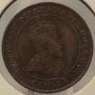 KM#8 1902 Canada Penny EF #0384