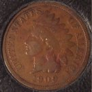 1909 Indian Head Cent G4 #0104